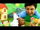Видео для детей. Поделки своими руками ПУГАЛО ДЛЯ ОГОРОДА. Игрушки Тайная жизнь домашних животных