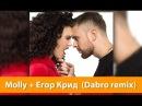 Эксперимент: Егор Крид и Molly - Если ты меня не любишь (Dabro remix)