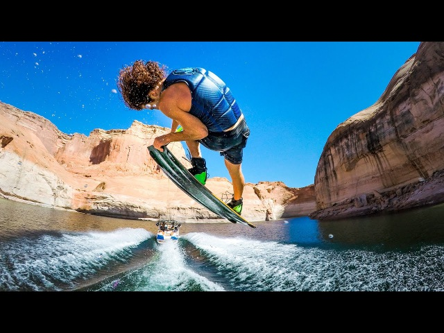 GoPro Lake Powell Wakeboarding Adventures