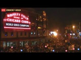 Chicago Cubs Win 2016 World Series Defeating The Cleveland Indians LIVE Celebration From Chicago