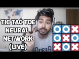 How to Make a Tic Tac Toe Neural Network Easily (LIVE)