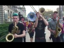 Leo P marches in his old neighborhood with Lucky Chops 4/18/15