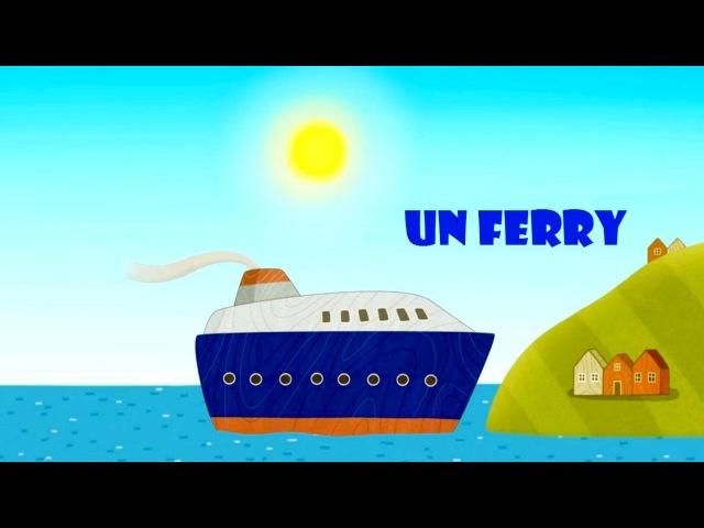 Una serie nueva: Ferry Barco de Juguete. Dibujos animados