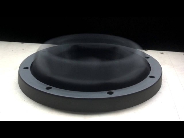 Sundown Audio X-8 subwoofer prototype