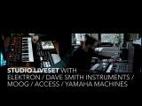 59 Min. Techno with Elektron  DSI Pro2  Moog  Yamaha machines