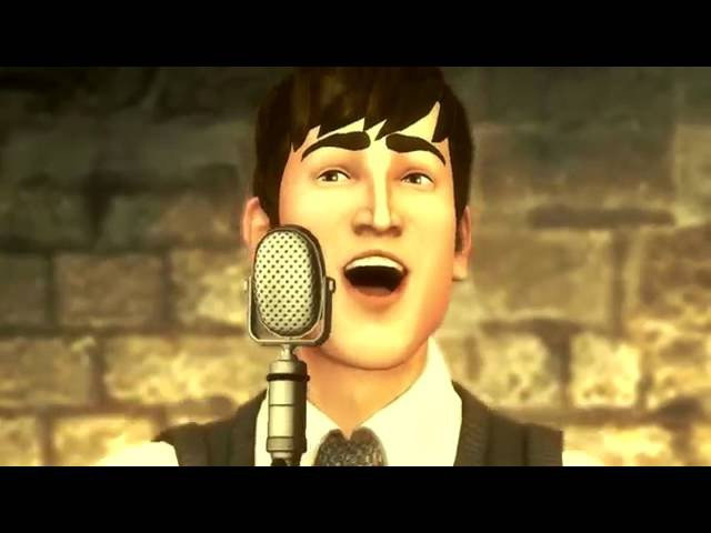 The Beatles rock band Twist and shout