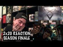 SHADOWHUNTERS 2x20 'BESDIE STILL WATER' REACTION