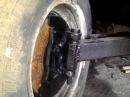 самий простой вариант передней балки минитрактора front axle for homemade tractor