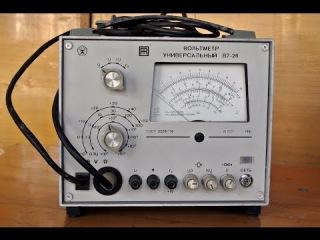 Вольтметр универсальный В7-26 - Техническое описание и инструкция по эксплуатации