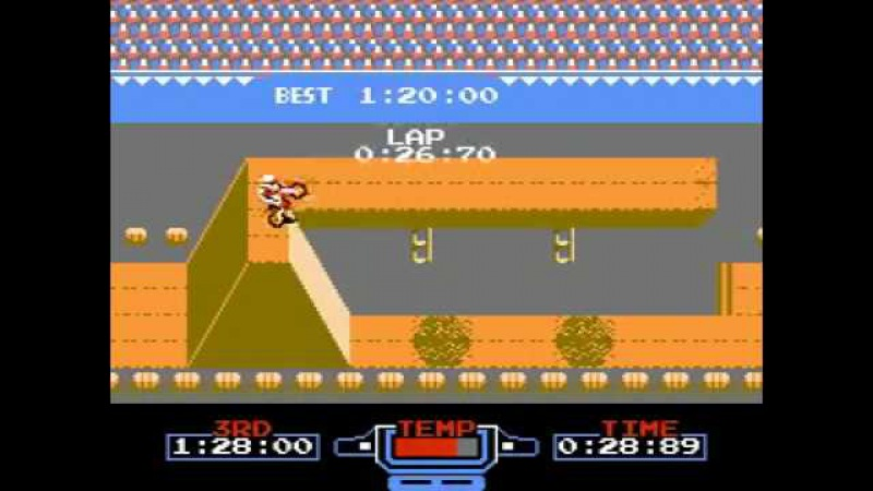 TAS Excite Bike NES in 529 by Lord Tom