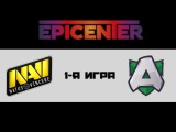 NaVi vs Alliance #1 (bo3) | EPICENTER: Moscow S2, 10.05.17
