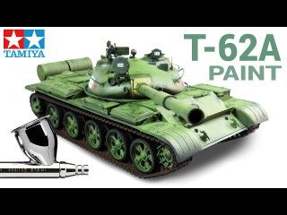 [2] 1/35 T-62A Russian Tank [TAMIYA] - PAINT / PINTURA