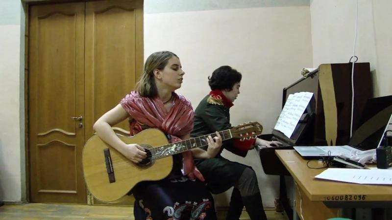Романс на музыку Свиридова.