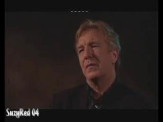 Alan Rickman Close My Eyes Interview