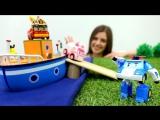 РОБОКАР ПОЛИ пропал! Робокары (#машинки из мультика #Поли и его друзья) играют в #ToyClub
