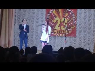 """""""Венок на воде"""" дуэт Полина Найденова и Павел Маклаков"""