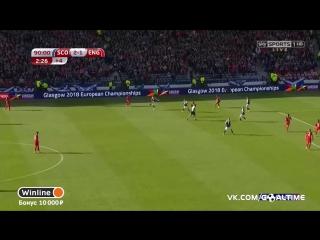 Шотландия - Англия 2:2. Харри Кейн