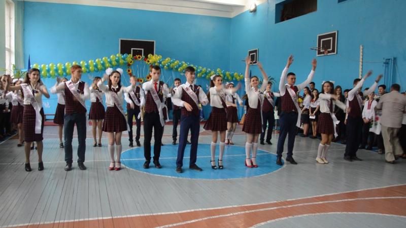 Флешмоб Останній дзвоник 11 клас Новодністровська ЗОШ 2017