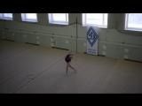 Штогрина Ирина, мяч. 26.02.17 Открытый Чемпионат МРО ОГО ВФСО