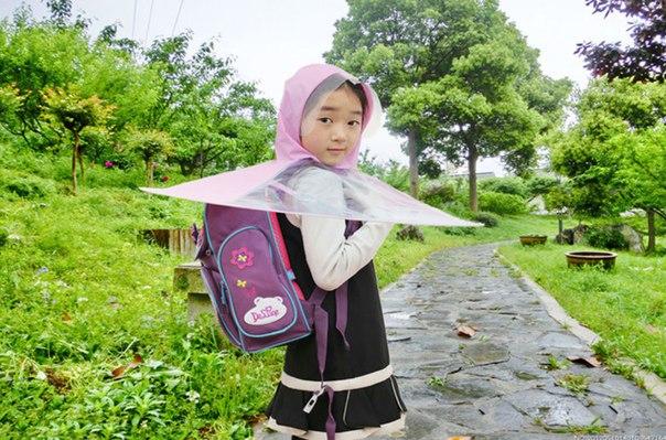 Реально креативный зонтик!  https://ru.aliexpress.com/store/product/Unique-2016-Creativite-Children-Rain-Coat-Kids-No-Handle-Foldable-Umbrella-Outdoors-Raincoat/1199011_32623144327.html?detailNewVersion=&categoryId=100004778