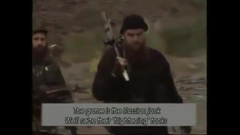 Отряд Гелаева в горах, конец 90-х