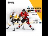 NHL 17 PS4. 2017 STANLEY CUP PLAYOFFS 100th EAST FINAL GAME 4 PIT VS OTT. 05.19.2017. (NBCSN) !