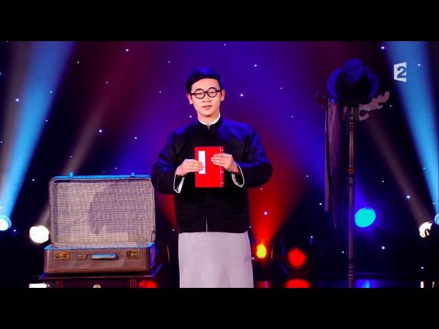 魔術師黃柏翰 Pohan Huang - Le Plus Grand Cabaret Du Monde (HD)