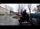 Скутер HORS 058 72cc 80cc Tuning