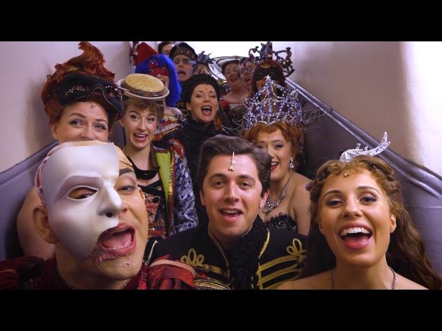 Happy Birthday Andrew Lloyd Webber from the cast of Phantom London