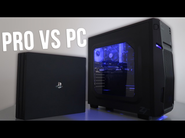 PS4 Pro vs $400 Budget Gaming PC 4K (w/ Benchmarks)