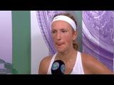 Victoria Azarenka d. Heather Watson - Wimbledon 2017 Post-match Interview