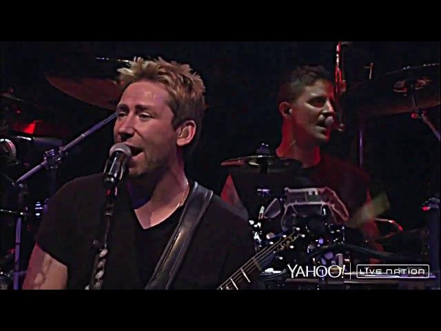 Nickelback Yahoo Live Nation 2014 HD 4K