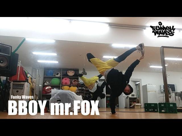 BBOY mr.FOX / ONE HAND BALANCE