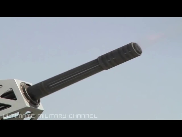 Counter Rocket Artillery Mortar system (C-RAM) FIRING! US Army land based PHALANX test daynight!