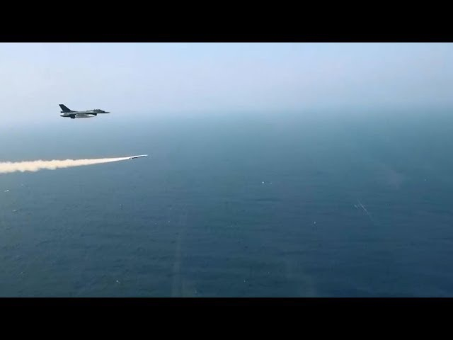 XASM-3 Supersonic anti-ship missile test launch
