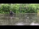BRP Outlander 1000 KFX 400 Rain Riding