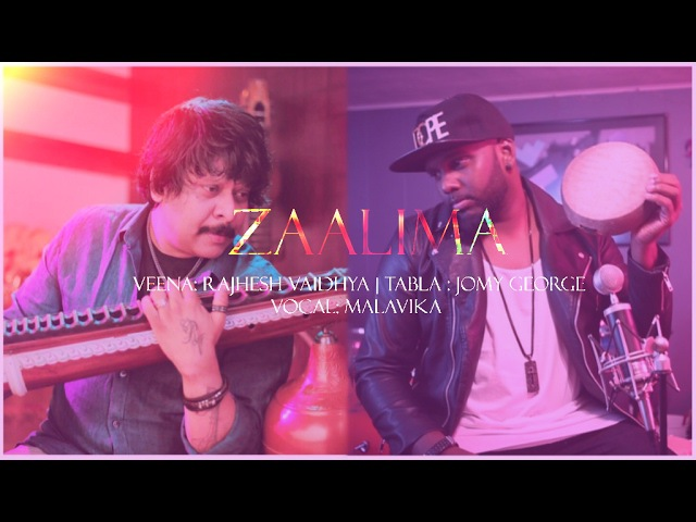 ZAALIMA | Rajhesh Vaidya FT Jomy George / Malavika veena Tabla cover
