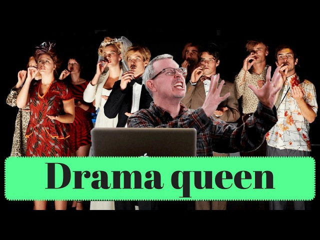 Learn English Daily Easy English 1141 drama queen