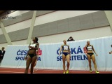 Hanna Plotitsyna wins 60m Hurdles - Czech Indoor Gala 2017
