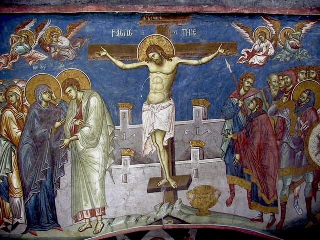 Страсти Христовы. Смерть Спасителя. Бог есть, и Он есть Любовь