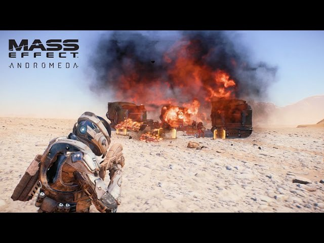 MASS EFFECT Andromeda | Combat Weapons Skills | Official Gameplay Series - Part 1