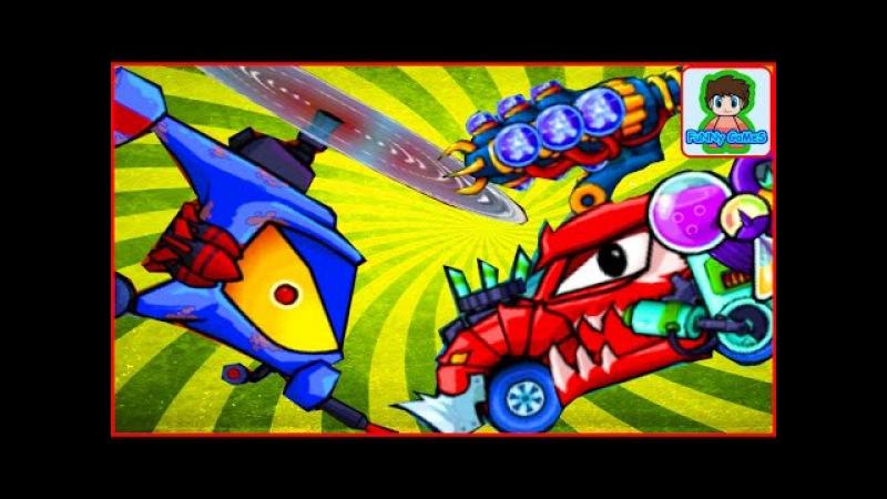 Car eats car 2 Игра как мультик про хищные машинки от Фаника 3