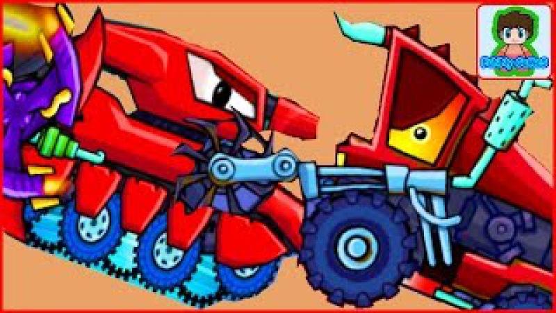 Car eats car 2 Игра как мультик про хищные машинки от Фаника 5