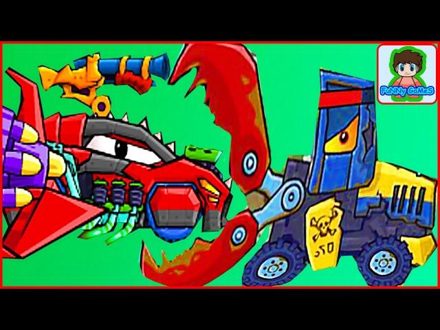 Car eats car 2 Игра как мультик про хищные машинки от Фаника