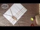 Подробный мастер класс корзинки из газетных трубочек