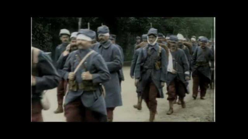 Западный фронт первой мировой -воспоминания очевидцев в кинохронике