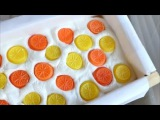 Making and Cutting Lemon &amp Orange Cold Process Soap