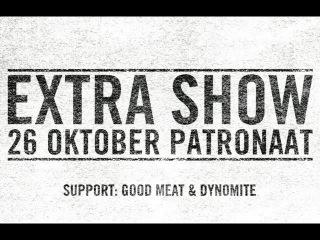 EXTRA SHOW! Chef'Special laatste show van 2012 op 26 oktober in het Patronaat!