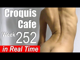 Croquis Cafe: Figure Drawing Resource No. 252