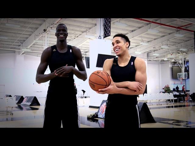 NBA Rooks Malcolm Brogdon and Thon Maker Two Bucks Rising NBANews NBA